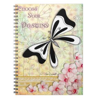 Choose Your Destiny Notebook