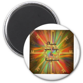 Choose Your Key to success 2 Inch Round Magnet