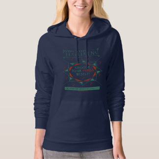 Choose Your Minds Wisely - Legilimens Poster Hoodie