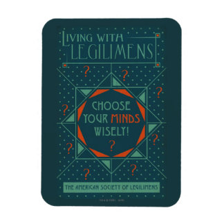 Choose Your Minds Wisely - Legilimens Poster Magnet