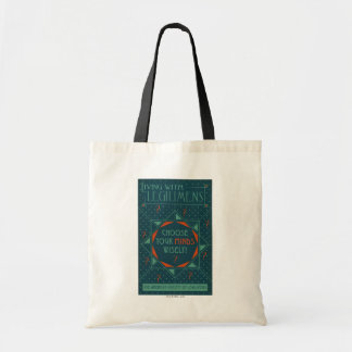 Choose Your Minds Wisely - Legilimens Poster Tote Bag