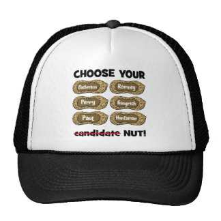 choose your nut hats