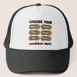 choose your nut trucker hat