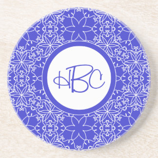 Choose Your Own Color Delicate Floral Coaster