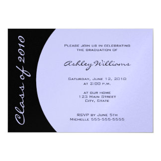 Choose your own Color Graduation Invitations