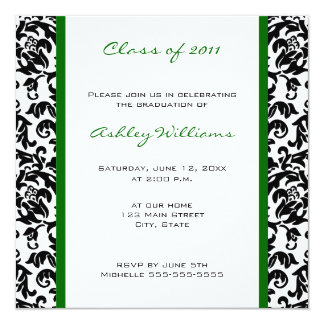 Choose Your Own Color Graduation Invitations
