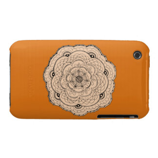 Choose Your Own Color Lace Crochet Flower iPhone 3 Covers