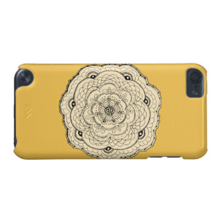 Choose Your Own Color Lace Crochet Flower iPod Touch 5G Case