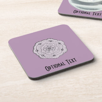 Choose Your Own Color Lace Doily Flower Drink Coaster