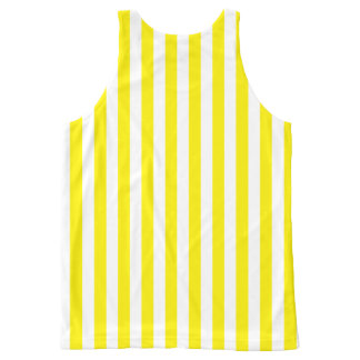 Choose Your Own Color Vertical Stripes Template All-Over Print Tank Top