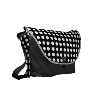 Choose Your Own Colour White Polka Dot Bag Messenger Bag