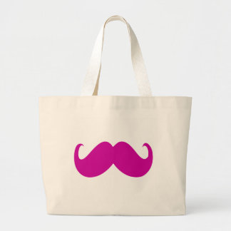 Choose your own mustache color tote bag