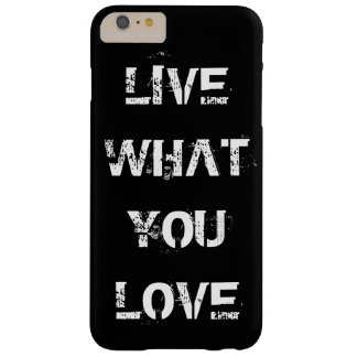 Choose your own text, image & background color barely there iPhone 6 plus case