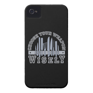 Choose Your Weapon custom iPhone 4 case-mate