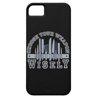 Choose Your Weapon custom iPhone 5 case-mate iPhone SE/5/5s Case