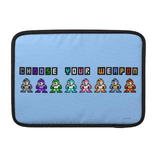 Choose Your Weapon MacBook Sleeves