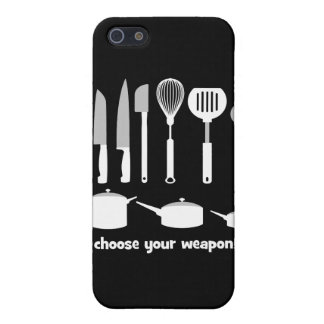 choose your weapon iPhone SE/5/5s cover