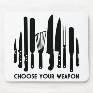 Choose Your Weapon Mouse Pad