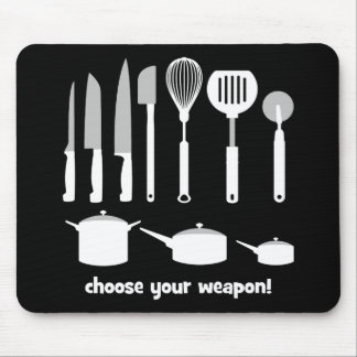 choose your weapon mousepads