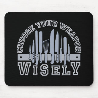 Choose Your Weapon mousepad