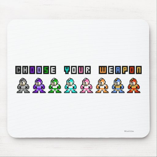 Choose Your Weapon Mouse Pads