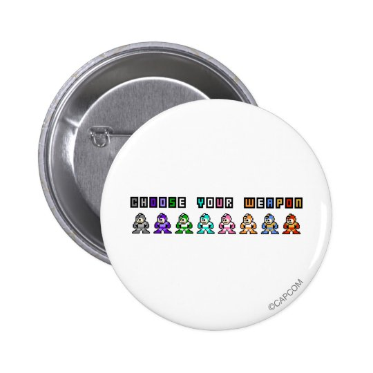 Choose Your Weapon Pinback Button