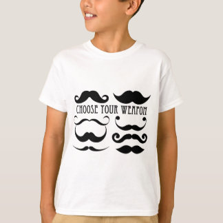 Choose your weapon Stache T-Shirt