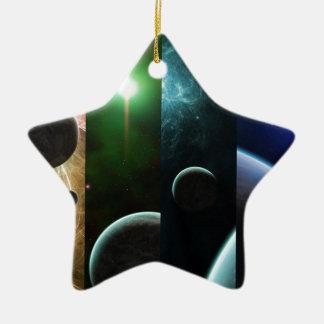Choose Your World Ceramic Ornament