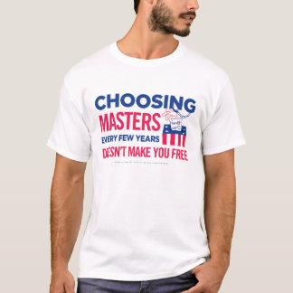 Choosing Masters Shirts