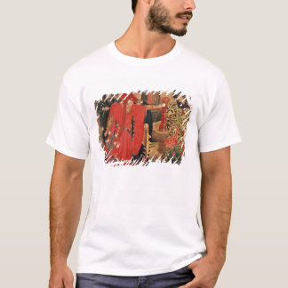 Choosing the Red and White Roses in Temple T-Shirt