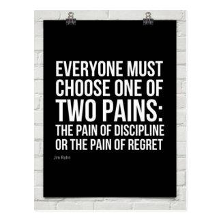Choosing Two Pains Postcard