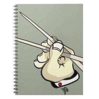 Chop Sticks Asian Design Notebook