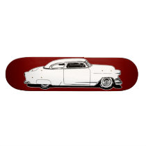 Chop Top Chevy Black, White, Red Graphic Deck
