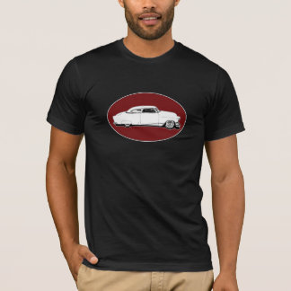 Chop Top Chevy Black, White, Red Oval Graphic
