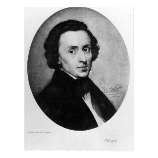 Chopin, 1858 postcard