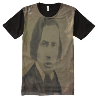 chopin All-Over print t-shirt