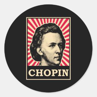 Chopin Classic Round Sticker