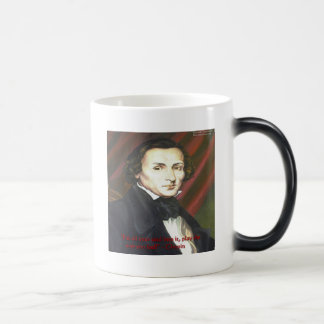 Chopin How To Play Quote Gifts Cards & Tees Magic Mug