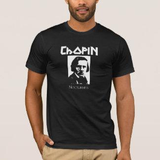 Chopin Nocturnes Black Metal T-Shirt