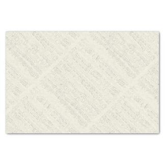 "Chopin Piano Polonaise Manuscript 10"" X 15"" Tissue Paper"