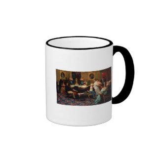 Chopin Playing the Piano Ringer Mug