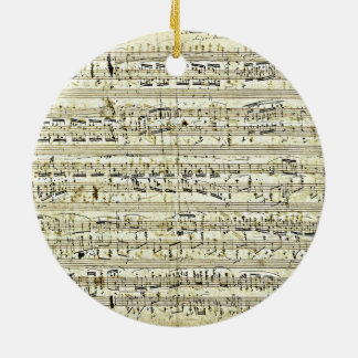 Chopin - Polonaise Ceramic Ornament