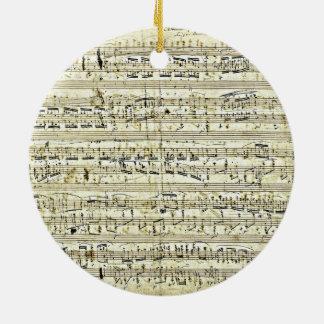 Chopin - Polonaise Ceramic Ornament
