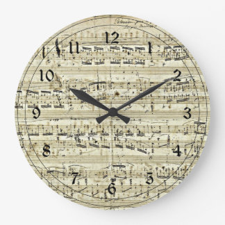 Chopin -  Polonaise Large Clock