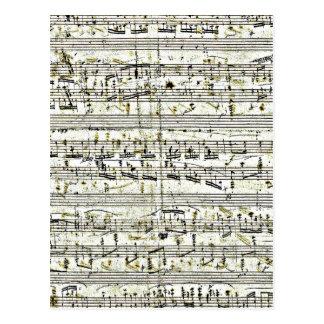 Chopin: Polonaise Postcard