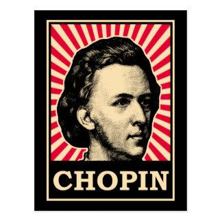 Chopin Postcard