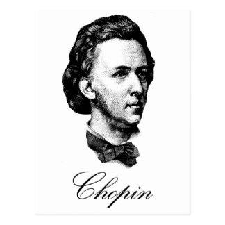 Chopin Tarjeta Postal
