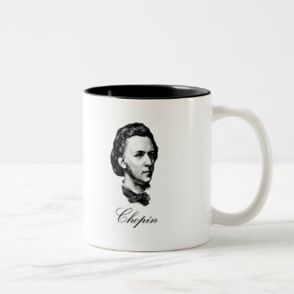 Chopin Two-Tone Coffee Mug