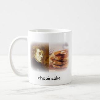 Chopincake Classic White Coffee Mug