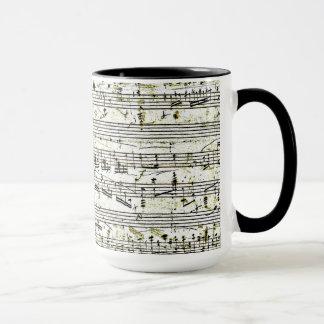 "Chopin's ""Polonaise"" Mug"